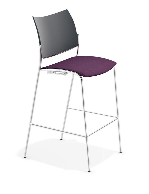 casala cobra barstool seat upholstered