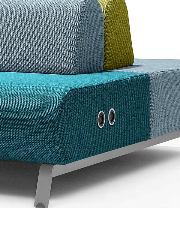 casala basso sofa modular softseating electrification