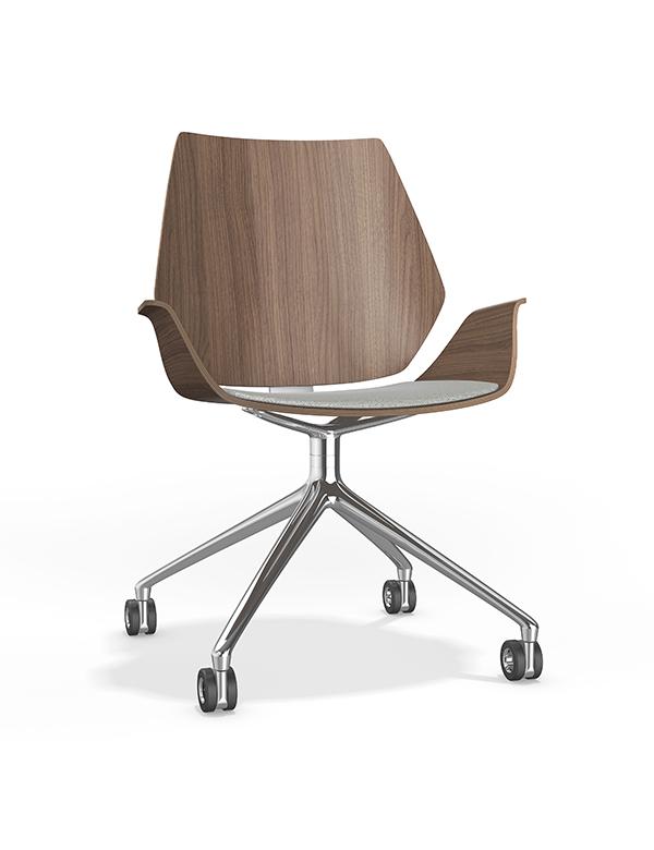 casala centuro VI chair upholstered seat