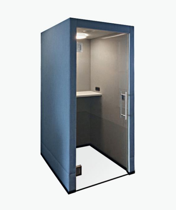 casala palau home phonebooth room-in-room