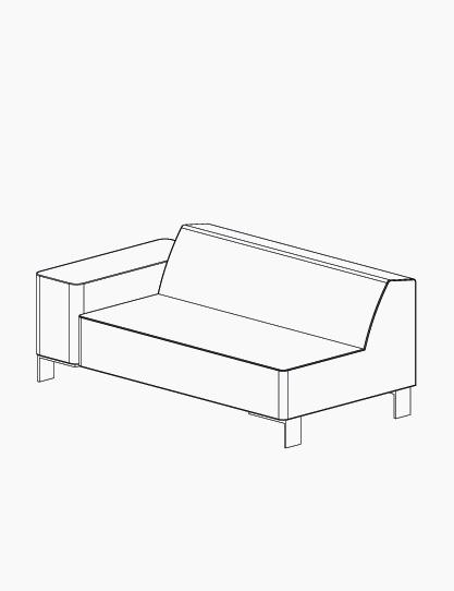casala palau finch corner element lineart