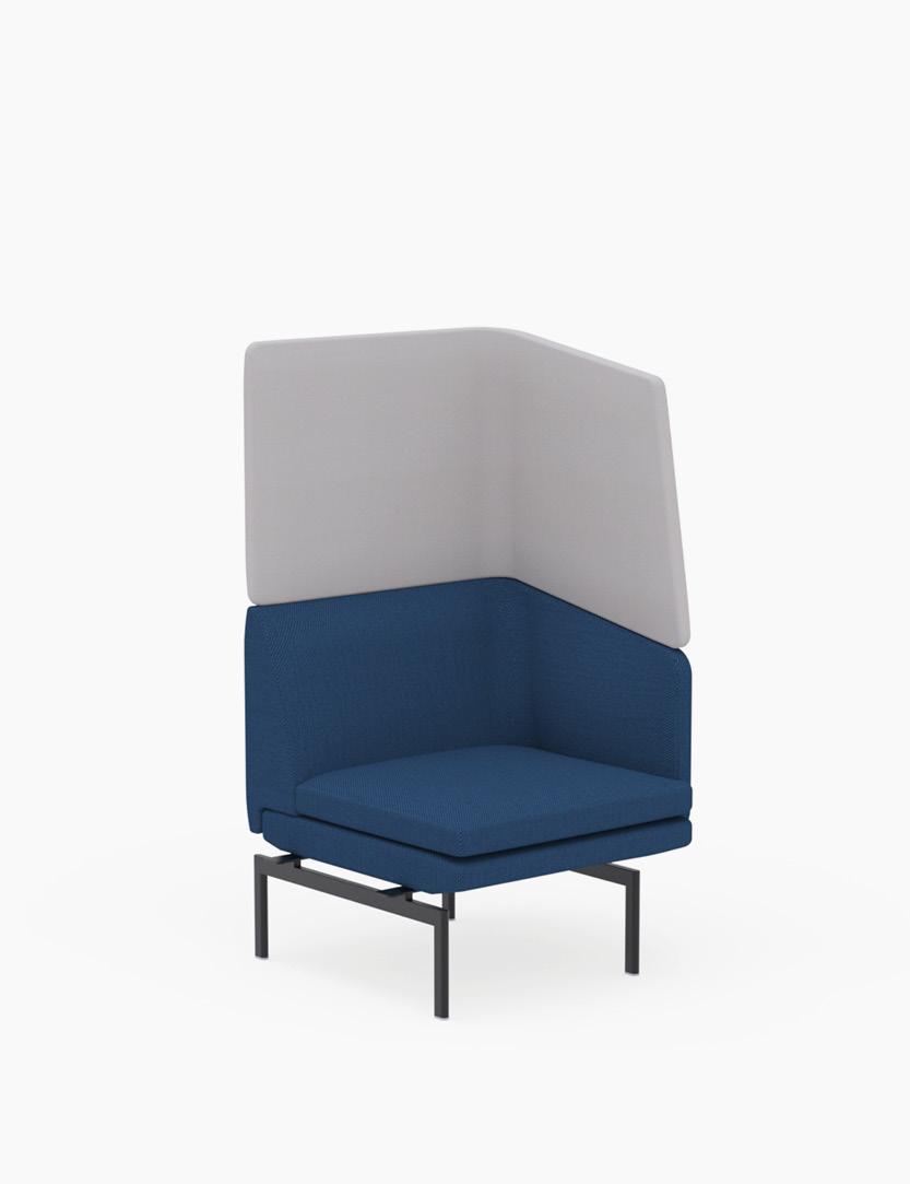 casala gabo modular 1 seater armrest hood