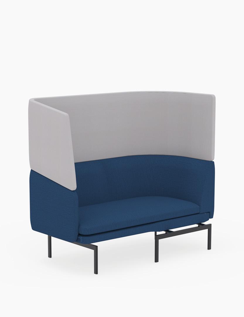 casala gabo modular 2-seater corner armrest hood