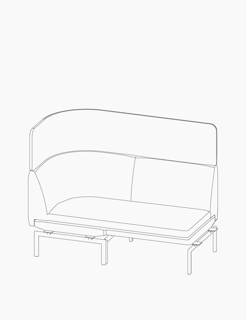 casala palau gabo modular lineart