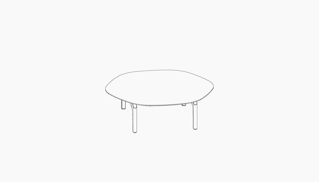 casala palau gabo side table lineart