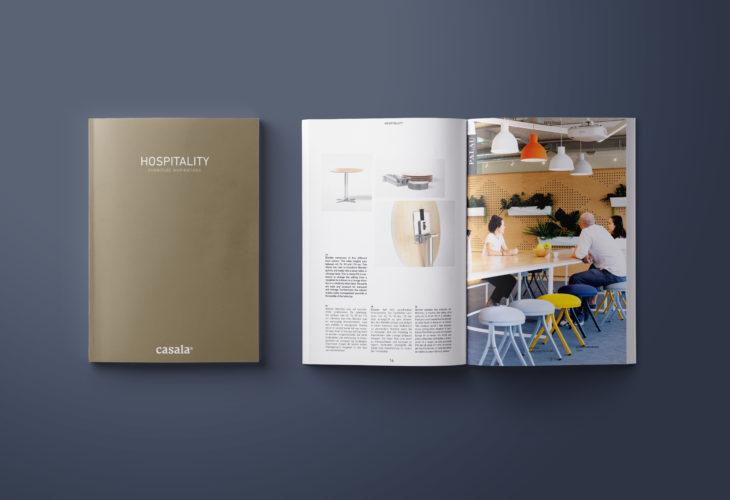 casala brochure hospitality brochure mock-up