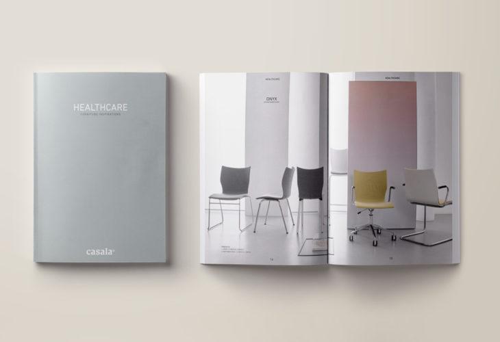 casala brochure healthcare mock-up