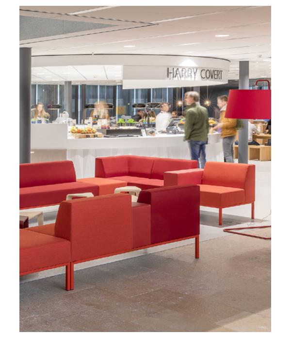 casala palau bricks modular soft seating case study technische universiteit eindhoven