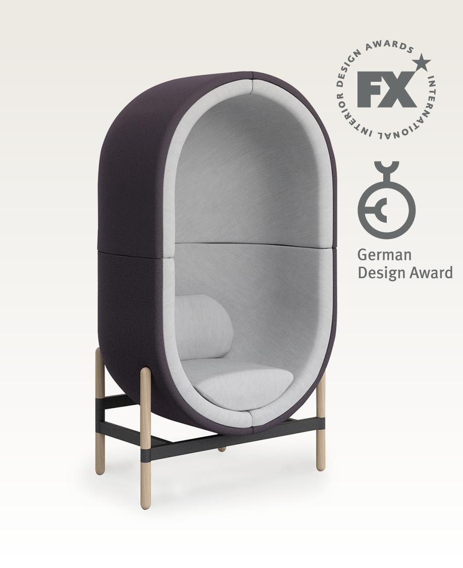casala palau capsule armchair 1-seater german design award winner fx award winner