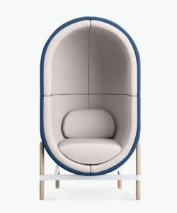 casala palau capsule armchair 1-seater